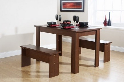Some Ideas Of Dining Room Table With Benches » Simple Dining Room Table And  Benches