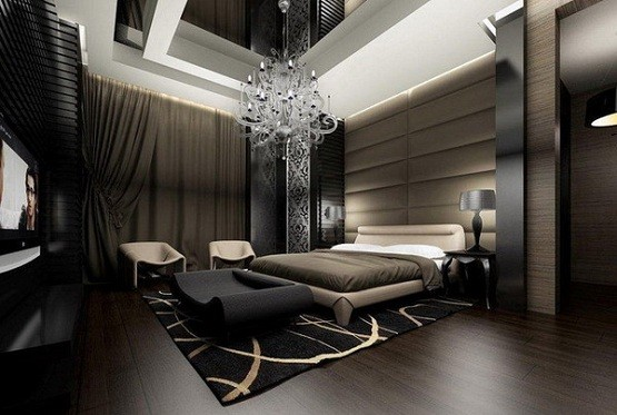 Modern Master Bedroom Chandelier Lighting Ideas Home