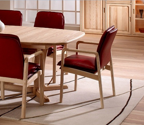 traditional low back dining chair red home interiors