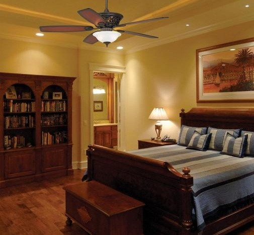 Bedroom Ceiling Fans With Lights Installation Guidelines