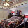 Ceiling fan with lights in boys bedrooms
