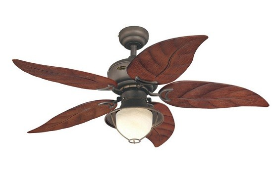 Five blade ceiling fan with lights for bedroom