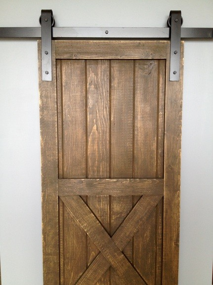 Diy Interior Sliding Barn Door On The Cheap