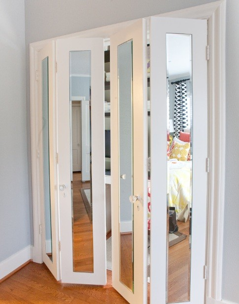 Interior door interior doors with glass panel for Interior folding doors
