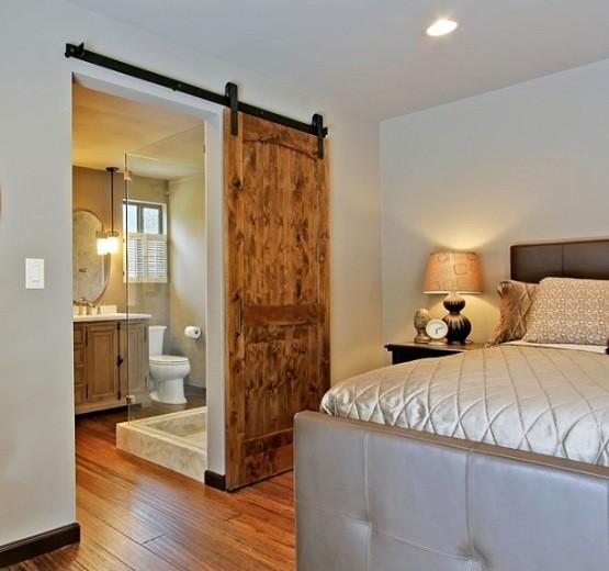 Interior barn door kit installation tips home interiors - Interior barn door track hardware ...