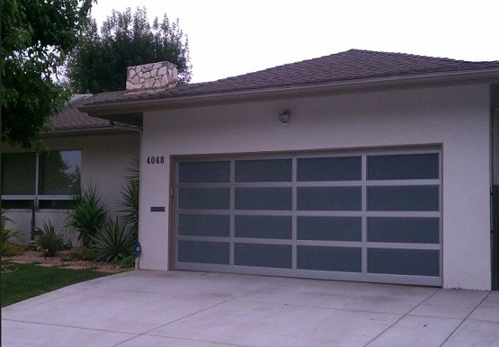 Aluminum U0026 Frosted Glass Garage Doors