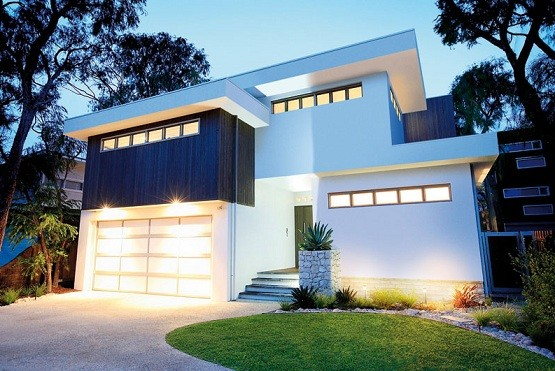 contemporary design garage door with acrylic inserts 15 detached modern and contemporary garage design