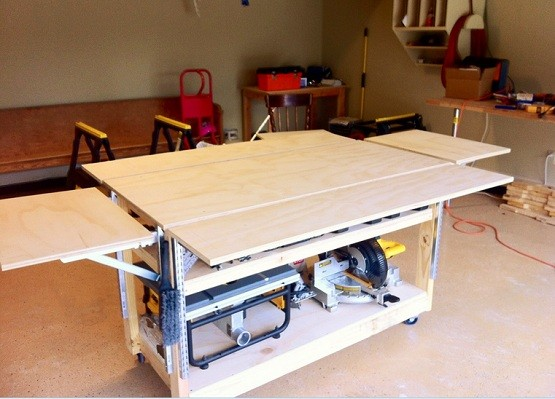 Garage Mobile Workbench Ideas Home Interiors