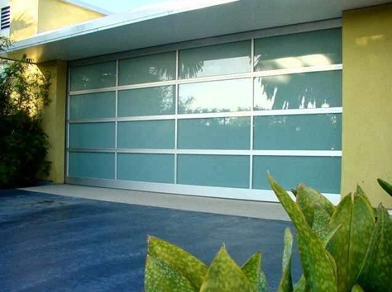 Captivating Aluminum Garage Doors, Find The Best One For You » Modern Frosted Glass  Aluminium Garage Doors