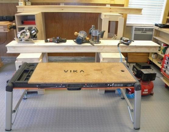 Portable garage workbench ideas