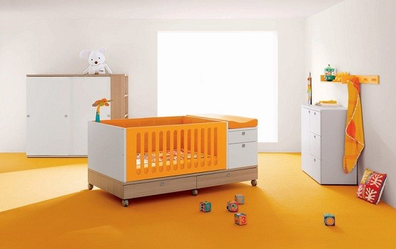 How To Find Affordable Baby Cribs » Orange baby cribs with storage - Orange Baby Cribs With Storage Home Interiors