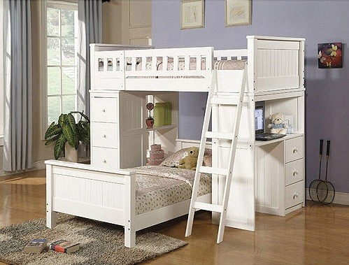 White Bunk Beds with Storage and Its Advantages » White bunk beds ...