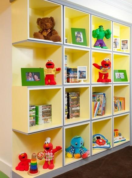 Perfect Kids Storage Solution, The Way To Make Kids Storage Looks Impressive »  Modern Wall Storage Solution For Kids