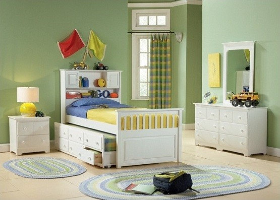 White Storage Beds For Kids