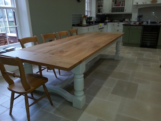 12 seat triple dining table with the infinity range