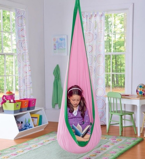 unique and stunning kids hanging chairs for bedrooms 14997 | canvas hanging chairs for kids bedrooms