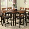 rustic counter height dining sets home interiors. Black Bedroom Furniture Sets. Home Design Ideas