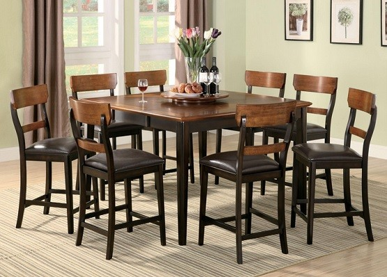 Counter height dining room sets by Coaster Franklin