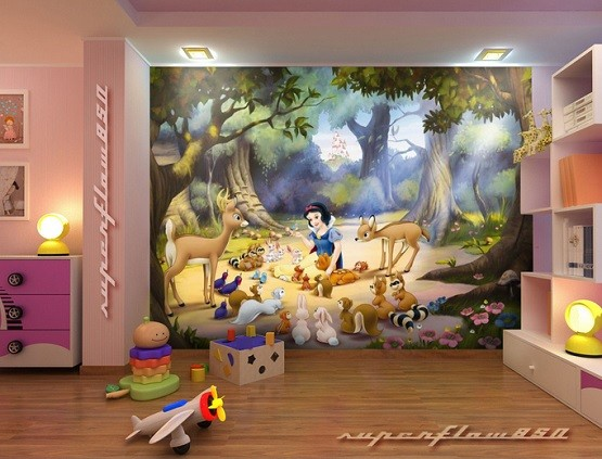 Cheap disney princess wall murals wall murals for Complete the mural uncharted 3