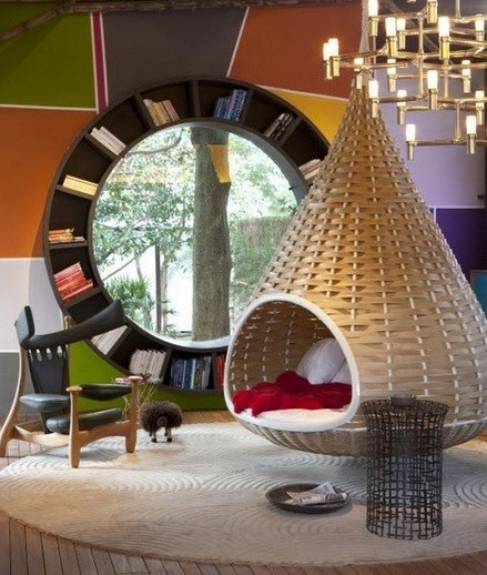 Impressive design hanging chairs for bedrooms