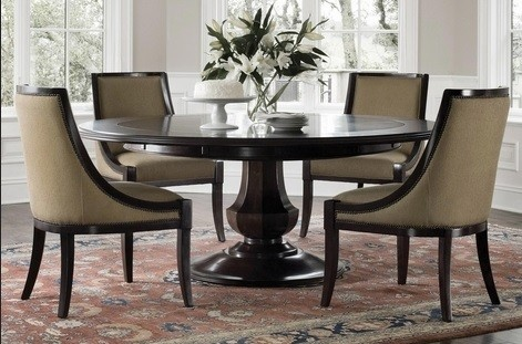 Classic 72 inch round dining tale