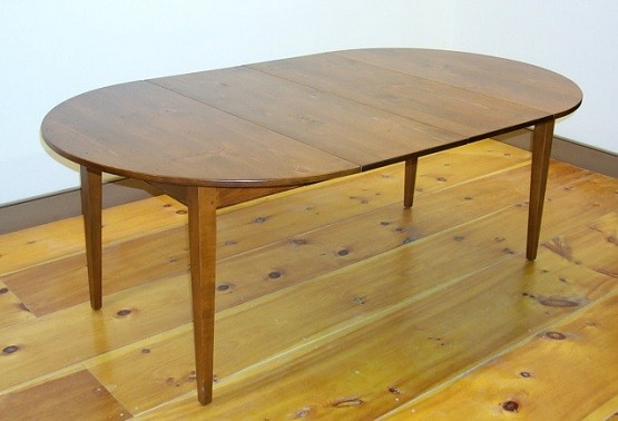 custom made round extension dining table - Extension Dining Table
