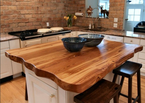 kitchen island with wood top butcher block dining table design ideas home interiors 24831