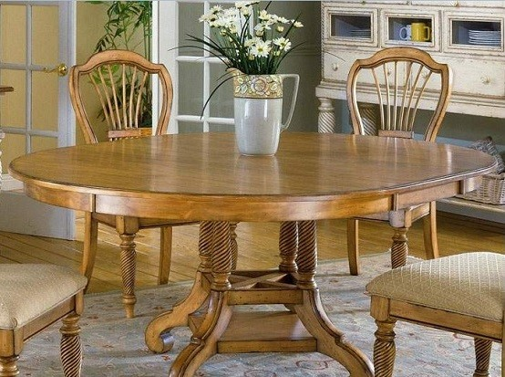 Improve Your House by Round Extension Dining Table