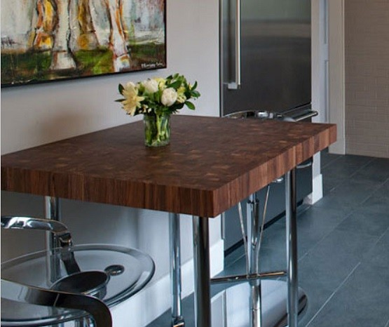 butcher block dining room table | Butcher Block Dining Table Design Ideas | Home Interiors