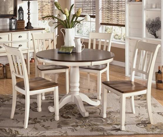 Kitchen Tables Round: Round Farmhouse Table Ideas