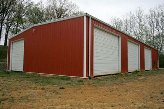 3 car portable garage with side entry door home interiors for 50x100 garage
