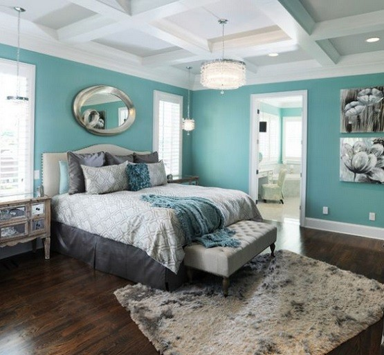 Aqua Feng Shui Bedroom Colors