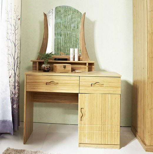 Bamboo dressing table for bedroom furniture