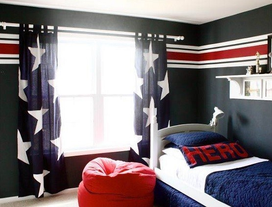 Genial Black U0026 White Teen Boy Bedroom Ideas