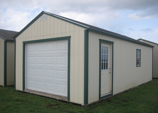 Box Roof Style Portable Metal Garage Home Interiors