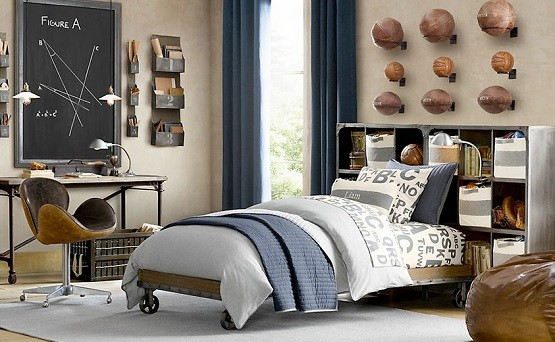 Creative design teen boy bedroom ideas