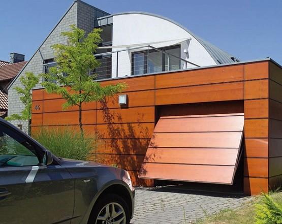 Custom Up and Over standard garage door sizes