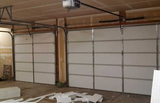 Double Garage Door Insulation Panels