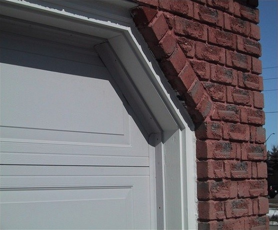 How to diy garage door weather stripping home interiors Garage with doors on both sides