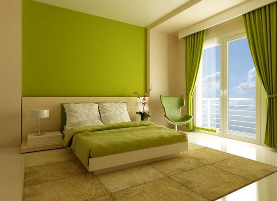 green feng shui bedroom colors - Bedroom Colors