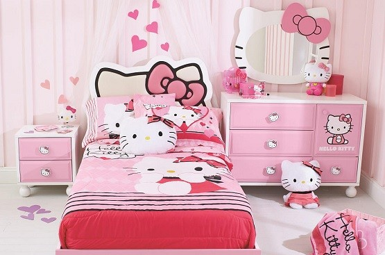 Hello Kitty Bedroom Furniture Design Ideas