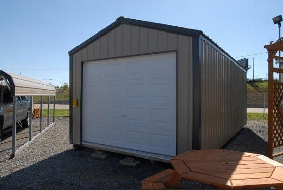 Temporary Metal Garage : Portable metal garage designs and benefits home interiors