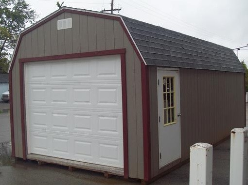 Portable metal garage with side entry home interiors for Side entry garage