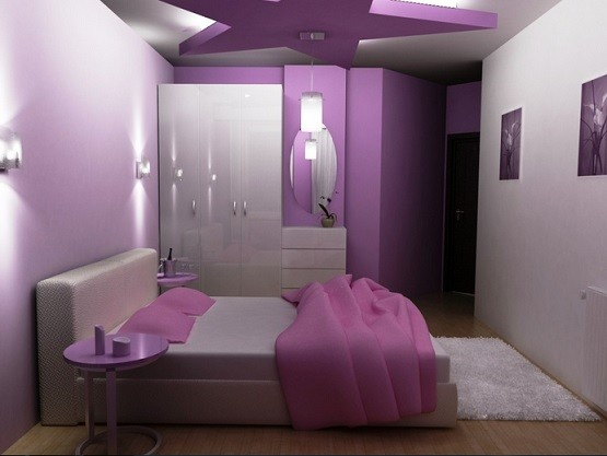 elegant purple theme for bedroom design ideas with luxury purple | Purple Bedroom Ideas for Elegant and Girly Look | Home ...