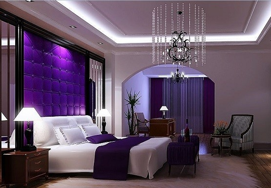 Purple Bedroom Ideas For Elegant And Girly Look Home