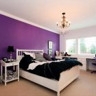 Purple Bedroom Ideas for Elegant and Girly Look