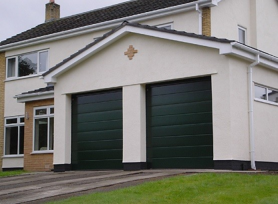 Sectional type standard garage door sizes home interiors Standard garage door size