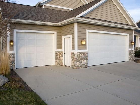 Standard 8 ft garage doors