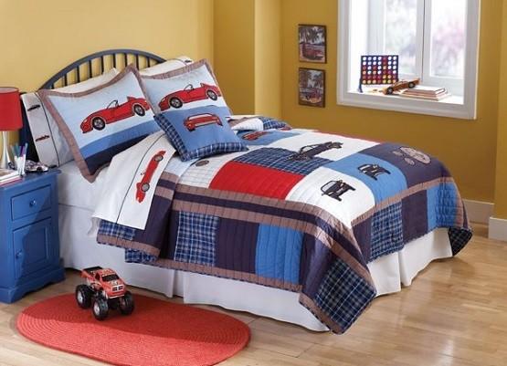 Toddler boy bedding set ideas