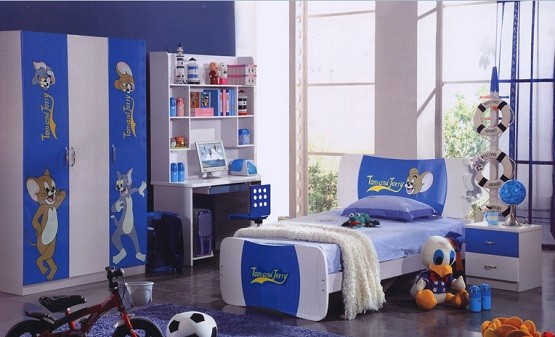 Awesome And Charming Toddler Boy Bedroom Ideas » Tom And Jerry Themed  Bedroom For Toddler Boy